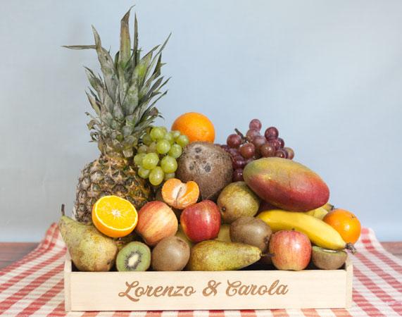 Bandeja de fruta premium