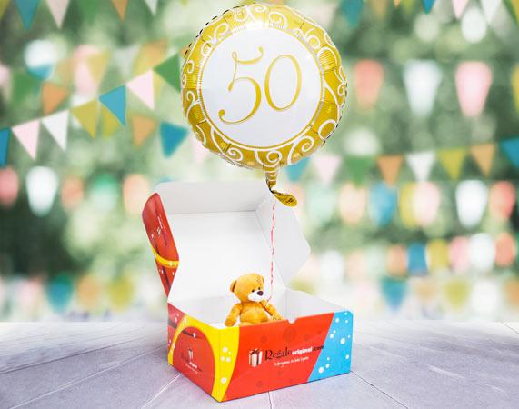 Globo de gas 50 años