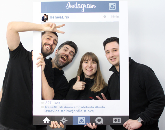 Marco de fotos Instagram