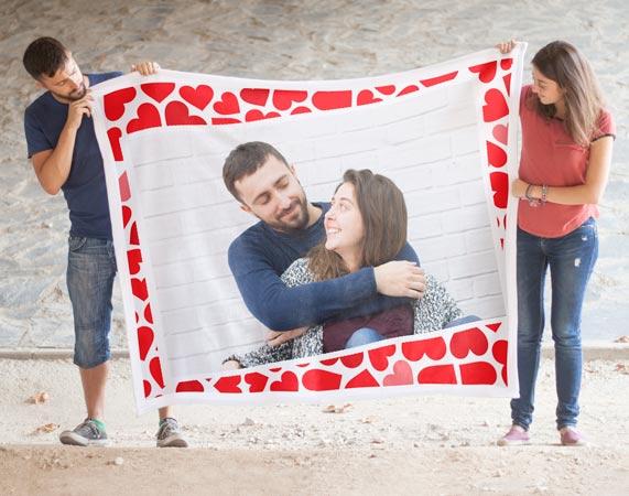 Regalos para triunfar en san valent n 2018 ideas para - Mantas personalizadas con fotos ...