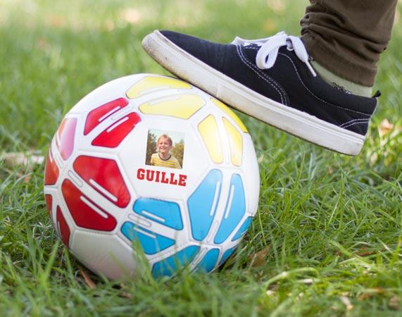 Balón de fútbol personalizado