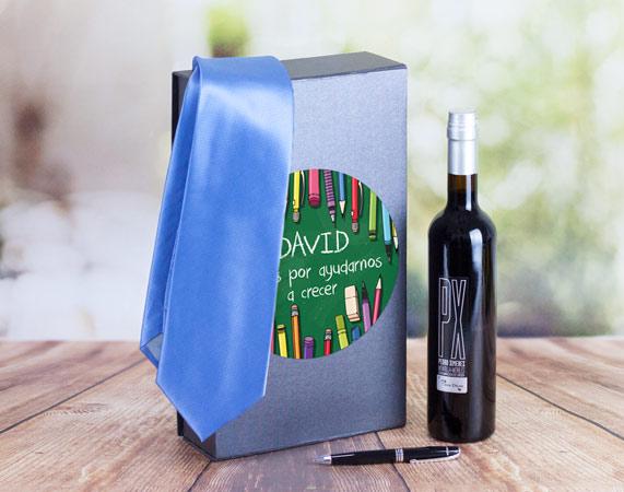 Kit de regalos para profesores con nombre