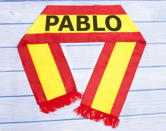 Bufanda personalizada de España