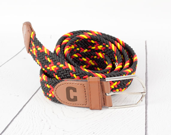 Cinturón trenza