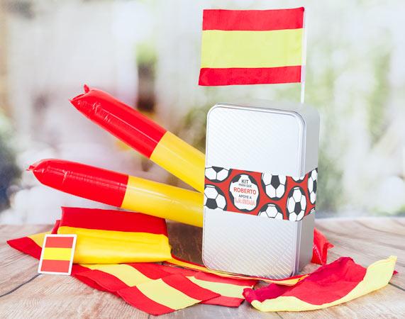 Kit personalizado para que España gane el mundial