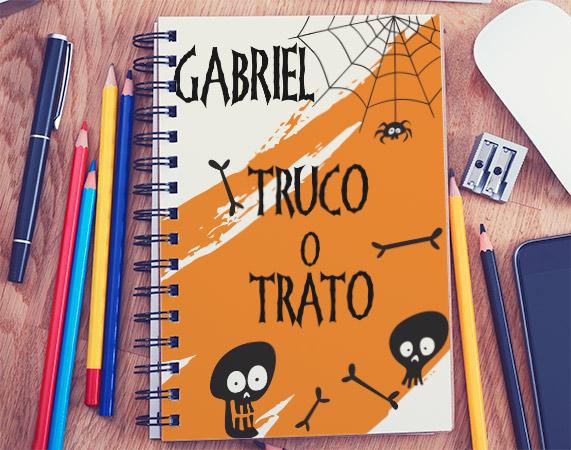 Cuaderno para Halloween