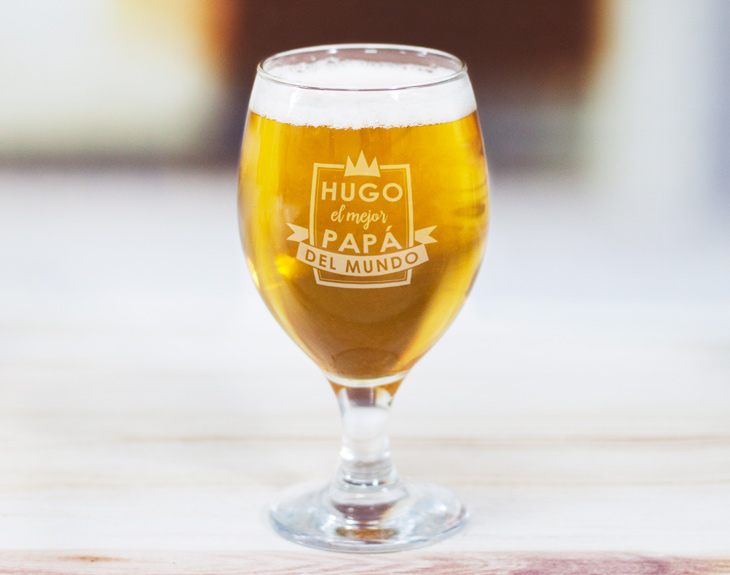 Copa de cerveza para padres